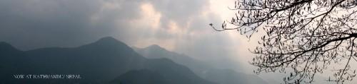 3.やっぱネパールは山でしょうな心地よい朝