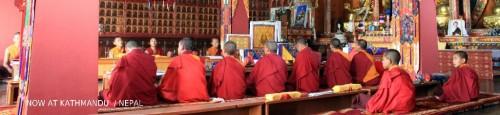 5.チベタン寺の風景これもTHEネパール風