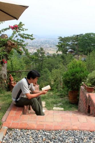 散歩以外は特に何もせず読書やネットでゆるりと。それが最高。