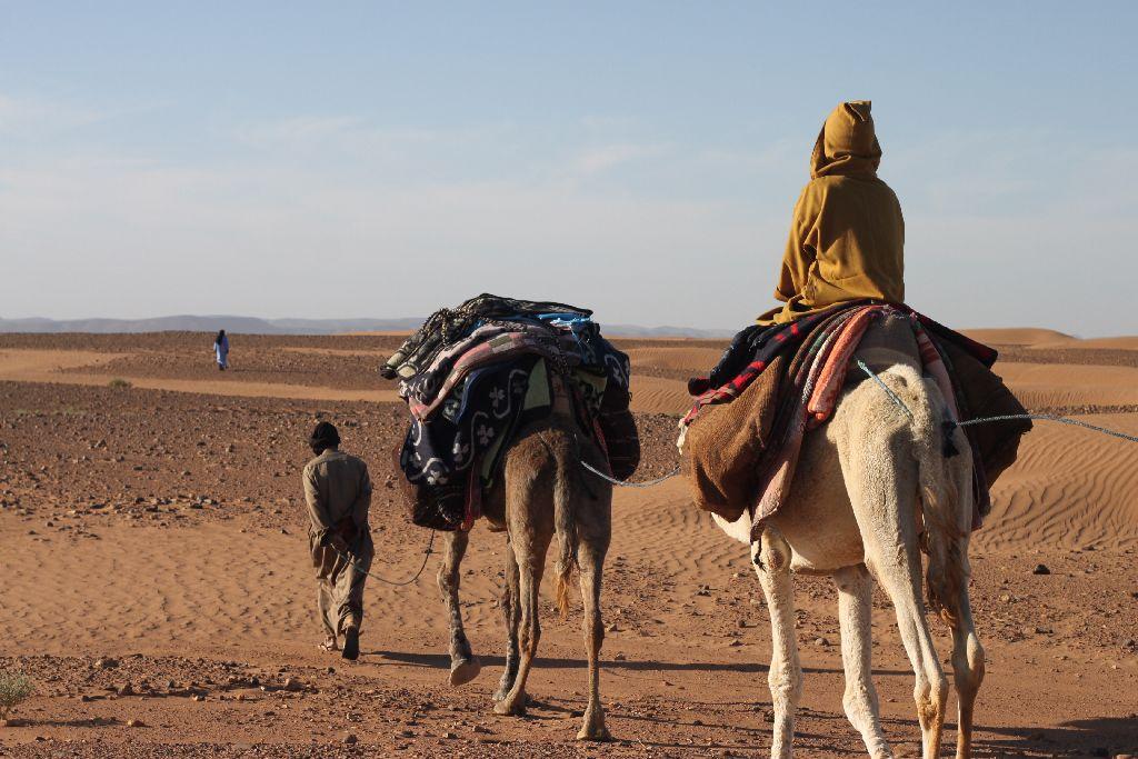 砂漠の民に魅せられて