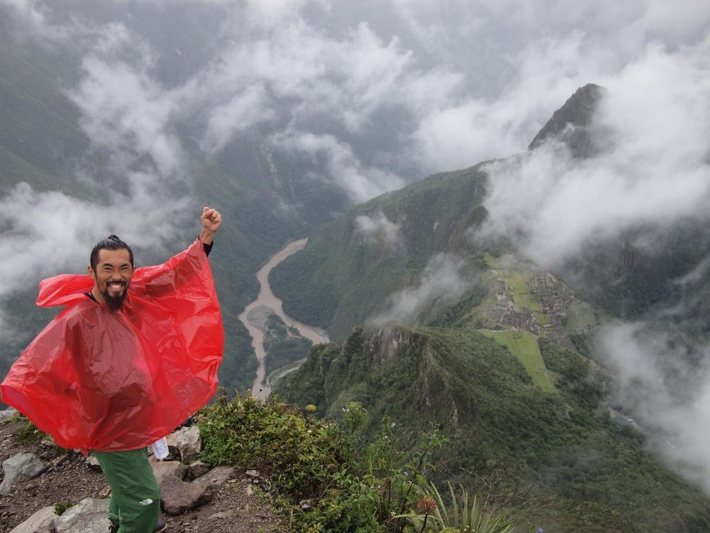 マチュピチュ Inca trail 4days.