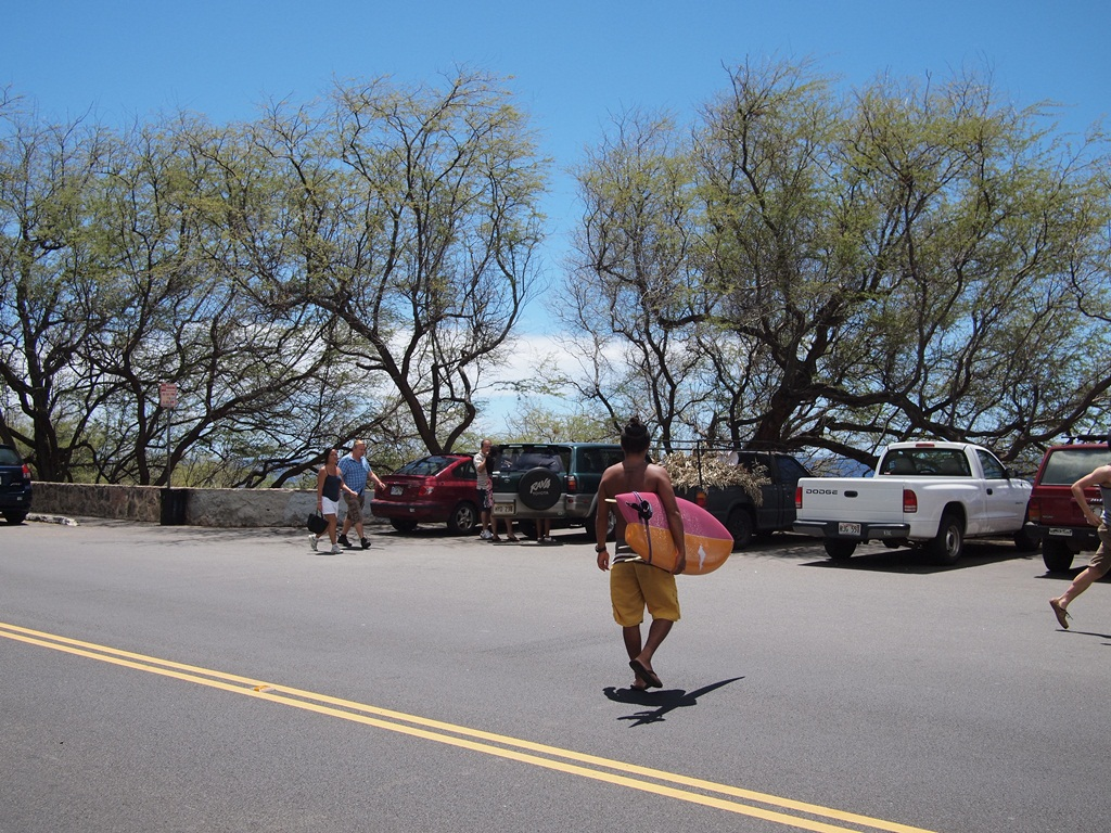 定番には訳がある。ハワイ、サーフィン。