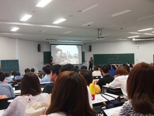 授業に来てくれた早稲田生の皆さんへ。
