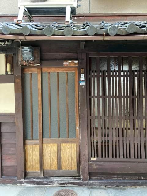 京都西陣に家を借りました
